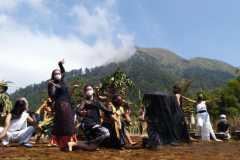 Festival Lima Gunung 2021 digelar di lahan hortikultura Gunung Andong